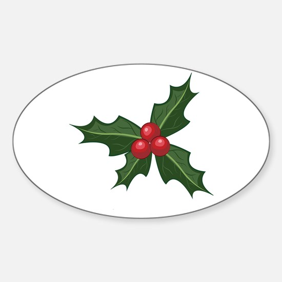 Holly Decal