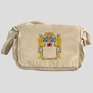 Emes Coat of Arms - Family Crest Messenger Bag