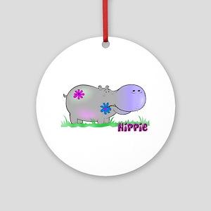 Hippie Hippo Keepsake (Round)