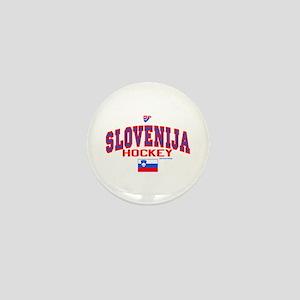 SI Slovenija(Slovenia) Hockey Mini Button