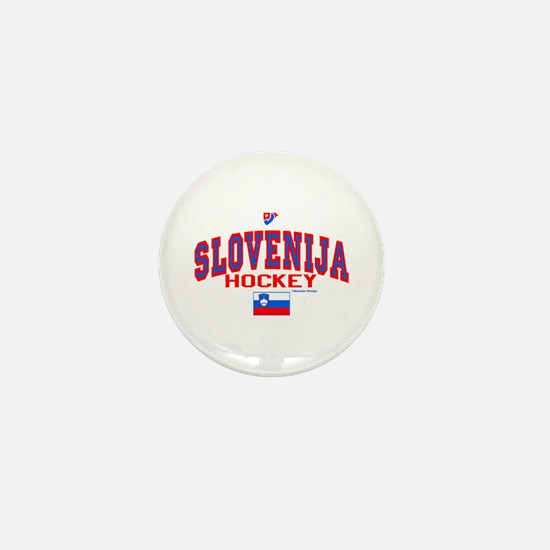 SI Slovenija(Slovenia) Hockey Mini Button