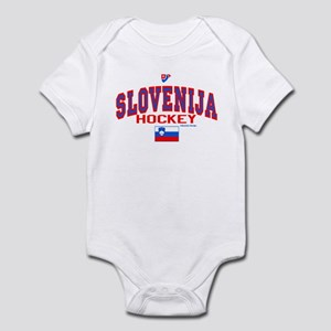 SI Slovenija(Slovenia) Hockey Infant Bodysuit