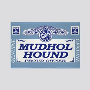 MUDHOL HOUND Rectangle Magnet