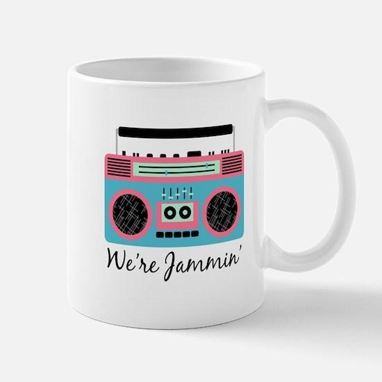 Jammin Boom Box Mugs
