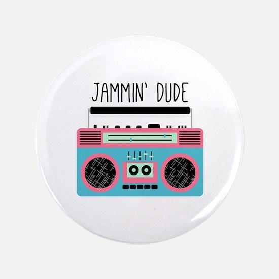Jammin Boom Box Button