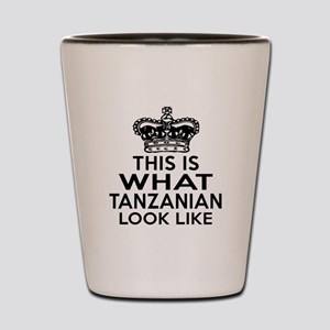I Am Tanzanian Shot Glass