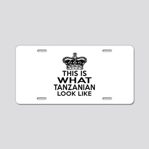 I Am Tanzanian Aluminum License Plate