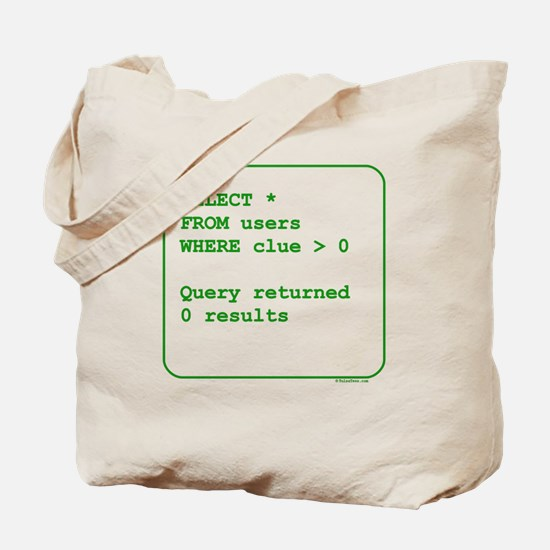 Clueless Users Tote Bag