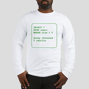 Clueless Users Long Sleeve T-Shirt
