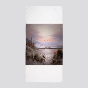 As The Sunsets Beach Towel
