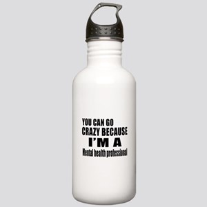 I Am Mental Health Pro Stainless Water Bottle 1.0L