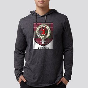 Crawford Clan Crest Tartan Long Sleeve T-Shirt