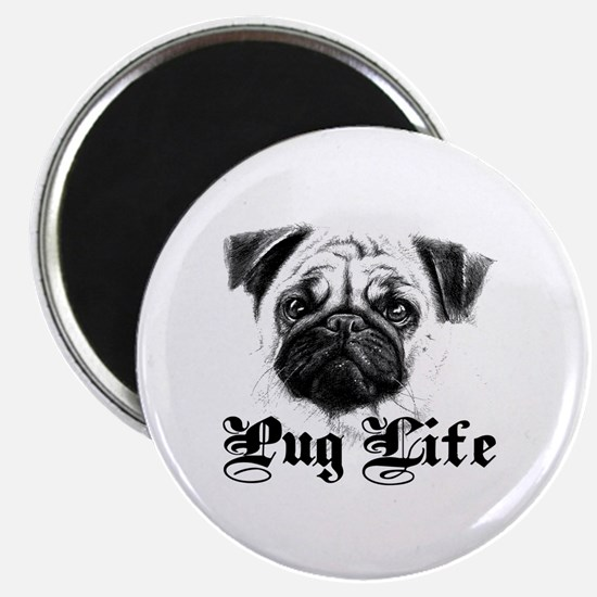 Unique I love pugs Magnet