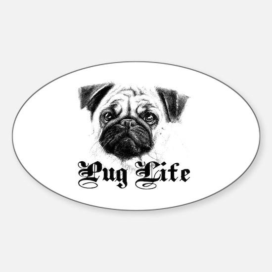 Funny Obama dog Sticker (Oval)