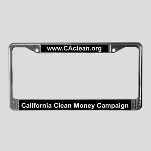 CCMC License Plate Frame (Black BG)