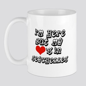 my hearts in Seychelles Mug