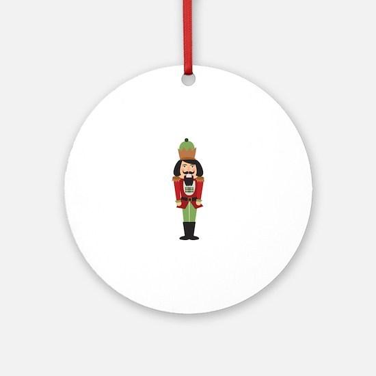 Nutcracker Round Ornament
