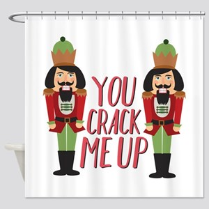 Crack Me Up Shower Curtain
