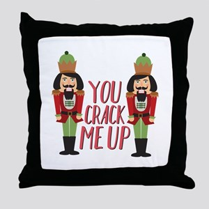 Crack Me Up Throw Pillow