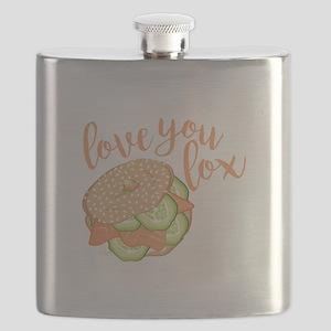 Love You Lox Flask
