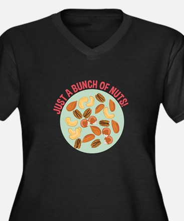 Bunch Of Nuts Plus Size T-Shirt