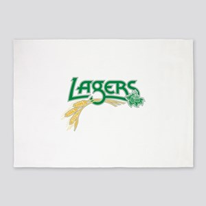 LAGERS Logo 5'x7'Area Rug