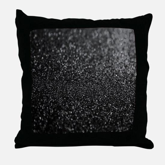 Unique Black light Throw Pillow