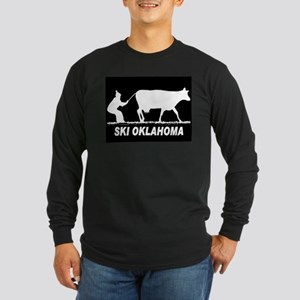 SKI OKLAHOMA BLACK Long Sleeve T-Shirt