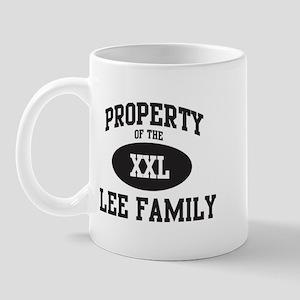 Property of Lee Family Mug