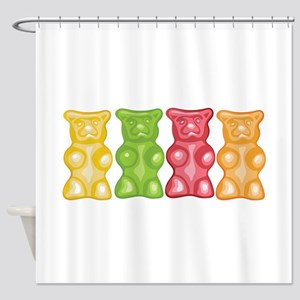Gummy Bears Shower Curtain