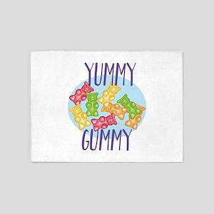 Yummy Gummy 5'x7'Area Rug