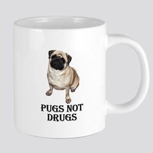 Pugs Not Drugs Mugs