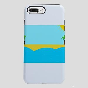 Sunny beach iPhone 8/7 Plus Tough Case