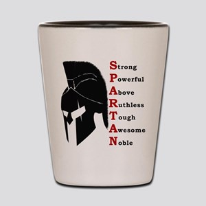 Spartan helmet Shot Glass