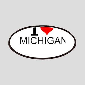 I Love Michigan Patch