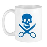 Blue Jolly Cropper Mug