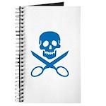 Blue Jolly Cropper Journal