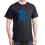 Blue Jolly Cropper Dark T-Shirt