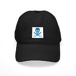 Blue Jolly Cropper Black Cap