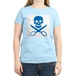 Blue Jolly Cropper Women's Light T-Shirt