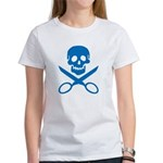 Blue Jolly Cropper Women's T-Shirt