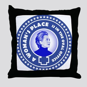 A Woman's Place 2016 Throw Pillow