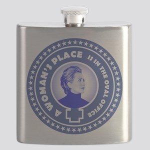 A Woman's Place 2016 Flask