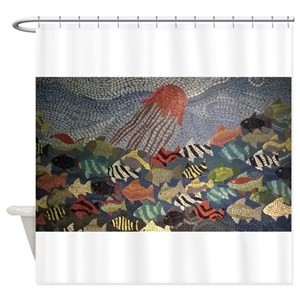 Mural Shower Curtains