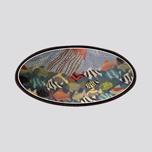Fish Mosaic Mural Patch