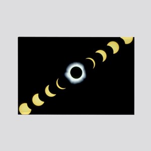 otal solar eclipse - Rectangle Magnet (100 pk) Mag