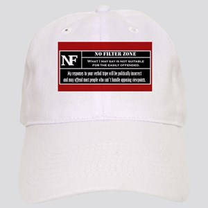 No Filter Zone Baseball Cap
