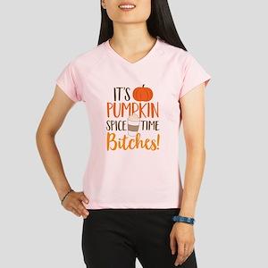 It's Pumpkin Spice Time Bi Performance Dry T-Shirt
