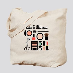 Kiss & Makeup Tote Bag
