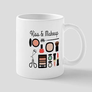 Kiss & Makeup Mugs